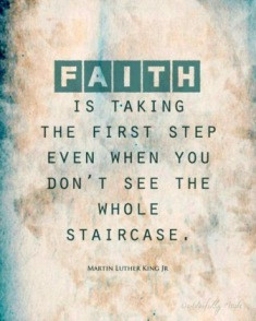 Step 1: Facing Into It With Faith