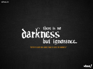 Motivational Quotes Of Darkness