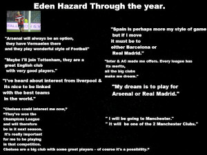 Snapshot: Eden Hazard's 2011/12 Season In Dirty Flirty Quotes