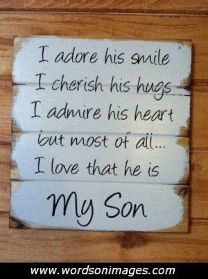 love my son quotes