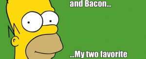 top ten homer simpson quotes about bacon top ten homer