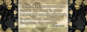 Best Friendship Quotes Facebook Cover