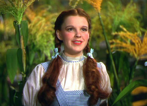 Dorothy Wizard Of Oz Movie 17-year-old judy as dorothy.