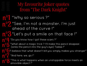 My favourite Joker quotes by Xmadbeauty