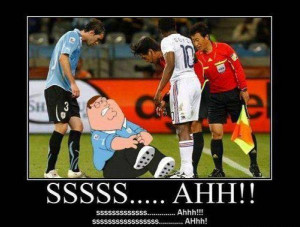 Soccer Griffin - Family Guy Picture