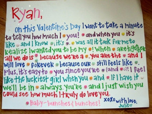 One Month Anniversary Quotes For Boyfriend With Candy ...