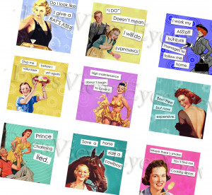 Displaying 18> Images For - Funny Vintage Women Quotes...