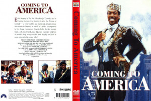 Font for Coming to America?