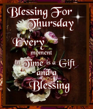 thursday blessing quotes