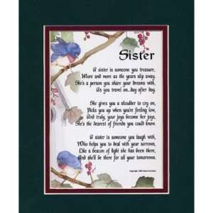 SISTER A SENTIMENTAL GIFT FOR A SISTER BIRTHDAY LOVE