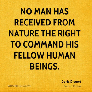 Denis Diderot Nature Quotes
