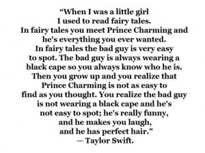 bad guy, love, prince, quote, taylor swift