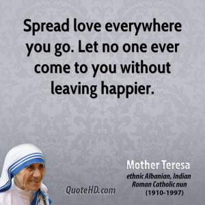 Spread Love Everywhere...
