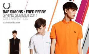 Raf Simons / Fred Perry S/S11 collection. Image and above quote taken ...