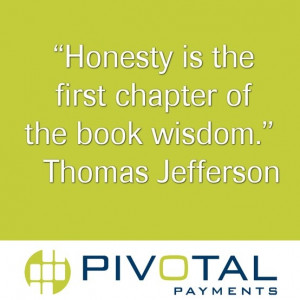 Great quote from Thomas Jefferson