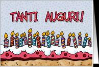 Italian Birthday Cards