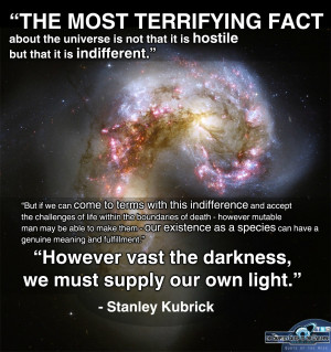 The most terrifying fact about the universe…