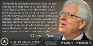 Quote: Dennis Prager