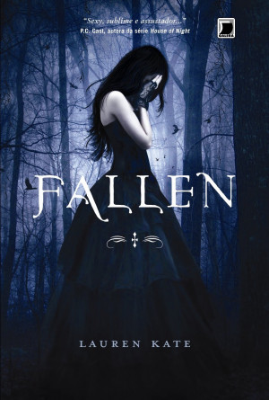 hardcover copy of the book fallen by lauren kate