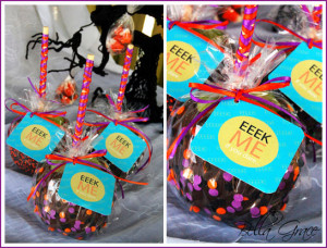 or Caramel Apples. Fancy them up yourself with some festive Halloween ...