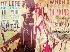 Quotes of Sword Art Online More