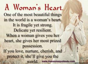 Woman's Heart.