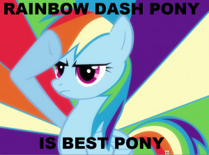 Rainbow Dash all the way.