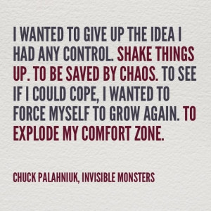 ... Invisible Monsters, Book Stuff, Wisdom, Chuck Palahniuk Quotes Love