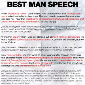 ... best man speech wedding season is upon us and if you re a best man we