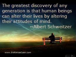 Albert Schweitzer attitude