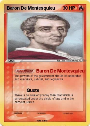 Baron De Montesquieu Quotes Pokemon baron de montesquieu