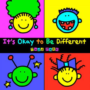 We also read It's Okay to be Different by Todd Parr.