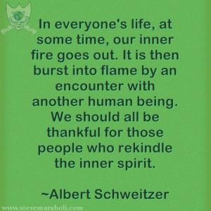 Albert Schweitzer #quote