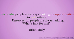 Image: Success quote / Brian Tracy