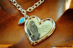 Owl Quotes and Sayings http://www.etsy.com/listing/62490436/wisdom ...