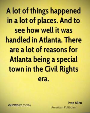 Ivan Allen Quotes