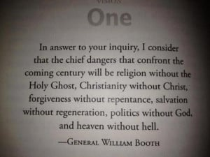 General William Booth, founder of The Salvation Army and, by the looks ...