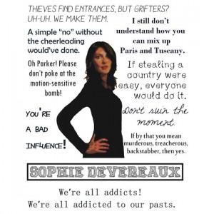 Leverage - Sophie