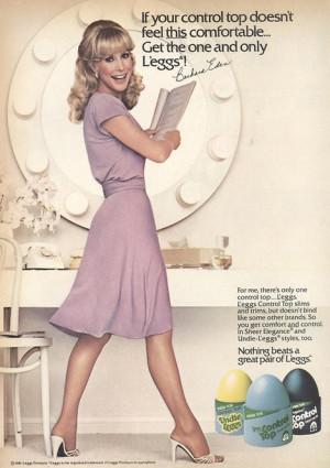 Barbara Eden 1981 Leggs Pantyhose Ad