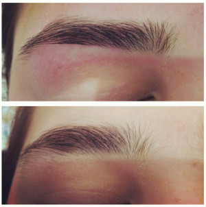 Eyebrow Threading Before And After Guys
