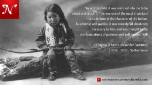 As a little child, it was instilled into me to be silent and reticent ...