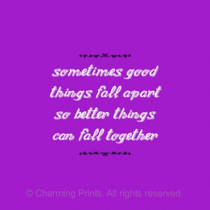 Cute Wall Art, Inspirational Quote, Purple, Quotes, Quotes On Art ...