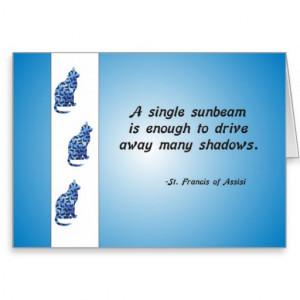 volunteer_appreciation_cat_and_sunbeam_quote_card ...