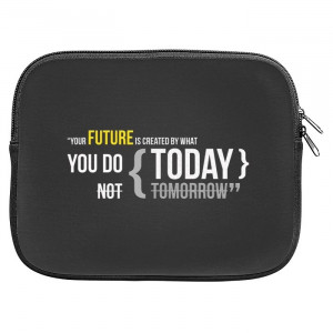 Future Motivational Quotes Zipper Pouch