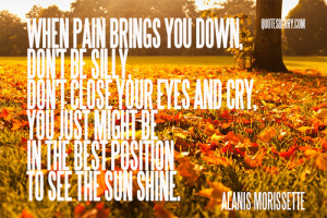 ... this image include: alanis morissette, quote, life, love and freedom