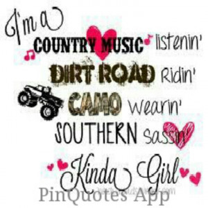 Tough Country Girl Quotes