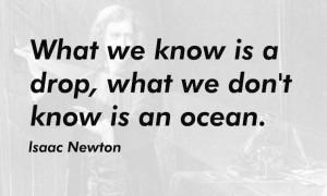Isaac Newton Quotes - screenshot