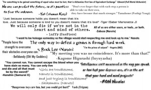 anime quotes and sayings