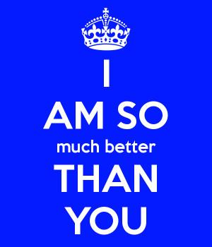 am better