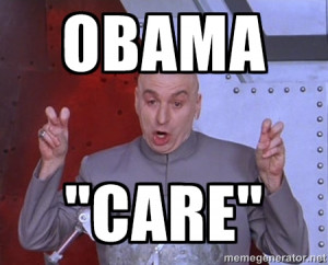Dr. Evil Air Quotes - obama